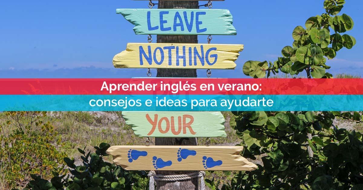 Aprender inglés en verano | Corelingo, cursos de inglés en Sevilla y Madrid