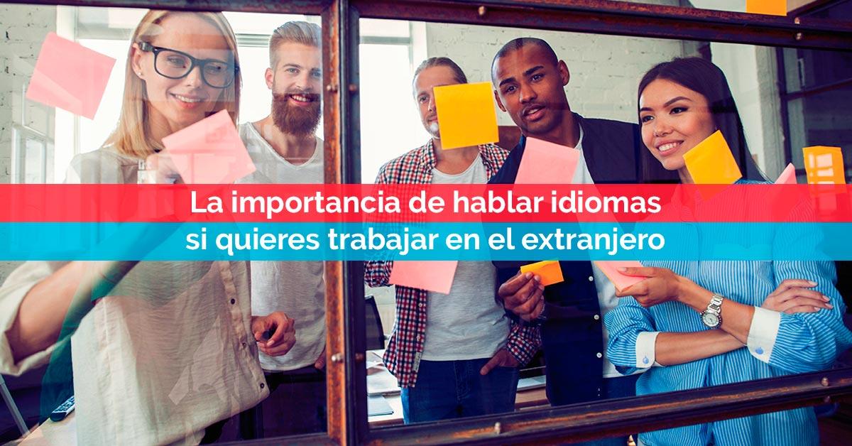 La importancia de hablar idiomas si quieres trabajar en el extranjero | Corelingo