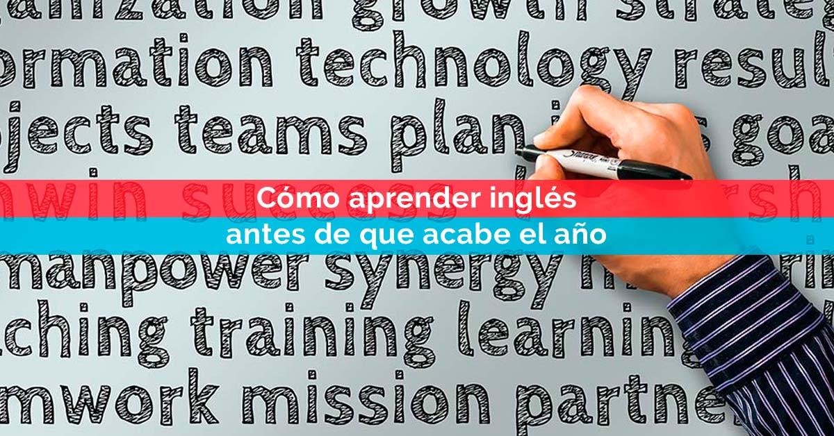 Cómo aprender inglés antes de que acabe el año | Corelingo, cursos de inglés en Sevilla y Madrid