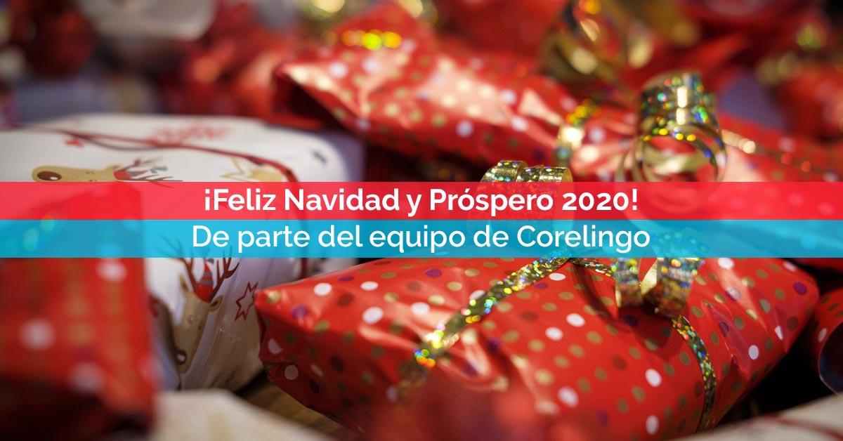 ¡Feliz Navidad y Próspero 2020 desde Corelingo! | Cursos de inglés en Sevilla y Madrid