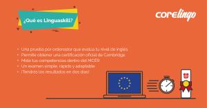 Qué es Linguaskill: una infografía para resumirlo | Corelingo - Cursos de inglés en Sevilla y Madrid